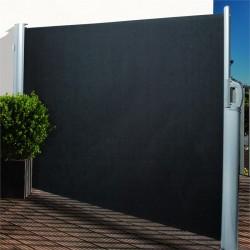 Seitenmarkise 300cm lang anthrazit Windschutz