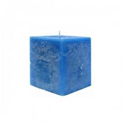 Kerze viereckig (Blau I.)