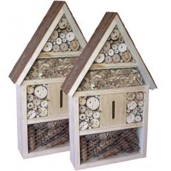 ZWEI Insektenhotels kaufen und kräftig SPAREN
