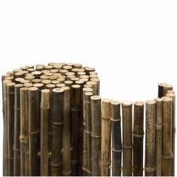 Bambusmatte Black Bambus (Bambus Ø 24 mm)