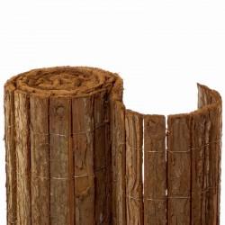 Rindenmatte aus Baumrindenstreifen