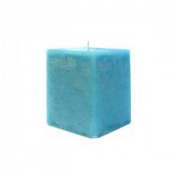 Kerze viereckig (Blau III.)